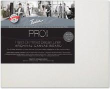 Fredrix Pro Oil Primed Belgian Linen Panel, 8x10