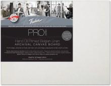 Fredrix Pro Oil Primed Belgian Linen Panel, 11x14