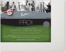 Fredrix Pro Belgian Linen Canvas Panel, 8x10