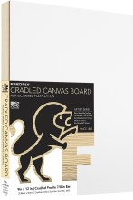 Fredrix Cradled Canvas Board, 9x12