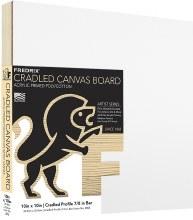 Fredrix Cradled Canvas Board, 10x10