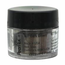 Pearl Ex Mica Pigments, 3g Jars, Dark Brown