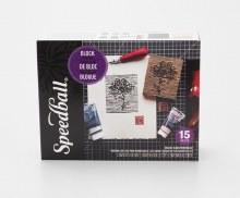 Deluxe Block Printing Kit, 15 Pieces