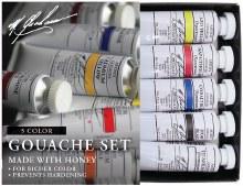 M. Graham Gouache Set, 5-Color Set