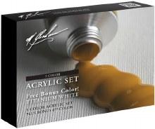 Acrylic Paint Set, 5-Color Set