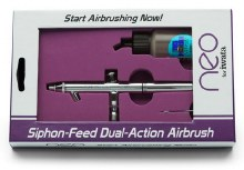 Neo by Iwata, Siphon-Feed, Dual-Action Airbrush