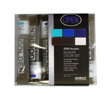 OPEN Acrylic Modern Set, Six 22 ml Tubes