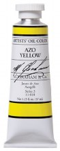 M. Graham Oil, Azo Yellow, 37ml