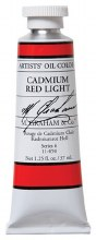 M. Graham Oil, Cadmium Red Light, 37ml