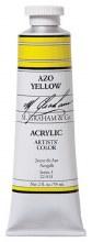M. Graham Acrylic Azo Yellow 59ml