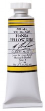 M. Graham Watercolor Hansa Yellow Deep