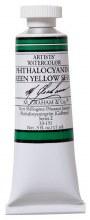 M. Graham Watercolor Phthalo Green Yellow Shade
