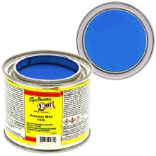 1 Shot Lettering Enamels, 4 oz., Process Blue