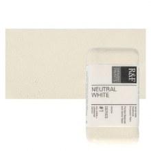 Encaustic Paint Cakes, 40ml Cakes, Neutral White