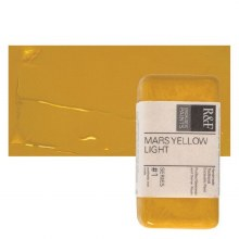 Encaustic Paint Cakes, 40ml Cakes, Mars Yellow Light