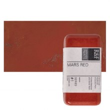 Encaustic Paint Cakes, 40ml Cakes, Mars Red