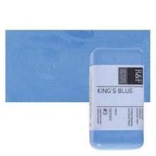Encaustic Paint Cakes, 40ml Cakes, Kings Blue