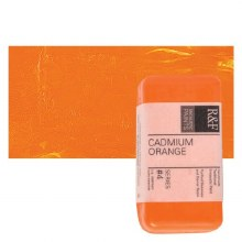 Encaustic Paint Cakes, 40ml Cakes, Cadmium Orange
