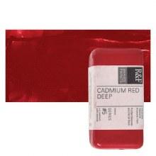 Encaustic Paint Cakes, 40ml Cakes, Cadmium Red Deep