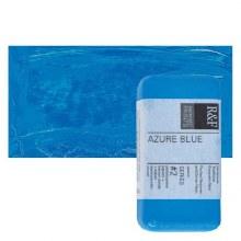 Encaustic Paint Cakes, 40ml Cakes, Azure Blue