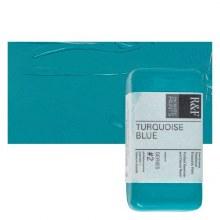Encaustic Paint Cakes, 40ml Cakes, Turquoise Blue