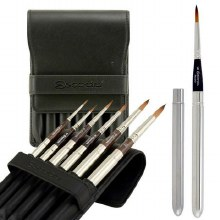 Escoda Prado Tame Synthetic Brushes, 6 Set
