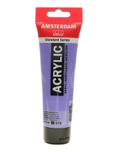 Amsterdam Acrylics, 120ml, Ultramarine Violet Light