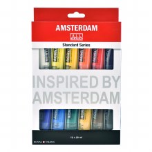 Amsterdam Standard Series Acrylic Paint 12-Color Sets
