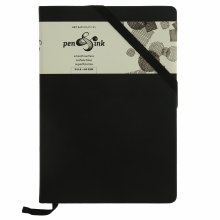 Pen & Ink Sketch Books, Portrait, Medium-Weight Blank Sketch Book - 5-1/2 in. x 8 in.