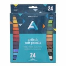 Artist Soft Pastel Sets, 24-Color Set - Assorted