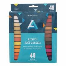 Artist Soft Pastel Sets, 48-Color Set - Assorted