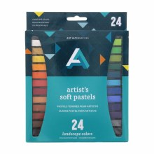 Artist Soft Pastel Sets, 24-Color Set - Landscape