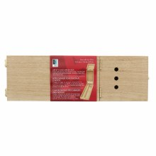 Artists Easel Brush Boxes, Long - 14 in. x 4.5 in. x 1-7/8 in. - Natural Hardwood