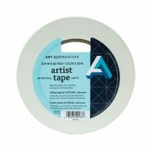 Artist Tape, White, 3/4 in. (10 yds.) 3 in. Core