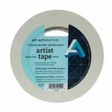 Artist Tape, White, 1-1/2 in. - 3 in. Core