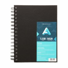AA Sketch Books, Spiral-Bound, 5.5 in. x 8 in.
