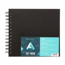 AA Sketch Books, Spiral-Bound, 7 in. x 7 in.