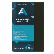 AA Mixed-Media Sketch Book, Staple Bound, 5.5 in. x 8.5 in.