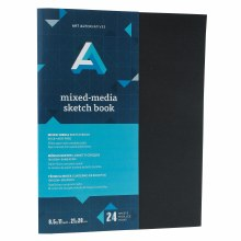 AA Mixed-Media Sketch Book, Staple Bound, 8.5 in. x 11 in.