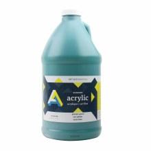 Economy Acrylics, Half Gallon, Pthalo Green