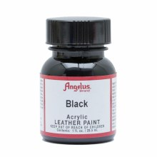 Acrylic Leather Paint, 1 oz. Bottles, Black