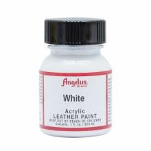 Acrylic Leather Paint, 1 oz. Bottles, White