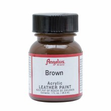 Acrylic Leather Paint, 1 oz. Bottles, Brown