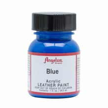 Acrylic Leather Paint, 1 oz. Bottles, Blue