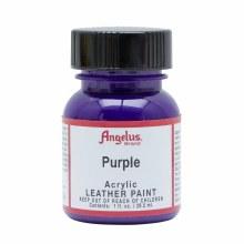 Acrylic Leather Paint, 1 oz. Bottles, Purple