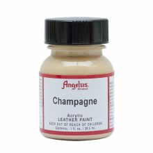 Acrylic Leather Paint, 1 oz. Bottles, Champagne