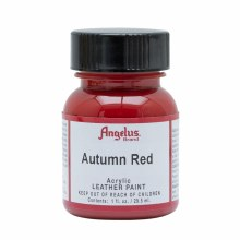 Acrylic Leather Paint, 1 oz. Bottles, Autumn Red
