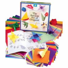 Ancient Art of Origami Kit, Supplies & Instructions