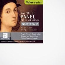 Primed Smooth Panel, 1/8 in. Profile, 6 in. x 6 in.