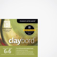 Claybord, 1/8 in. Profile, 6 in. x 6 in. - 4/Pkg.